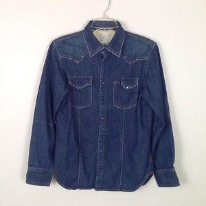 GUESS Jean denim shirt in size XL(20)